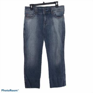 GAP Women's Size 10 Low Rise Cropped Stretch Jeans